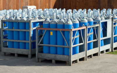 How To Safely Handle And Store Compressed Gas Cylinders